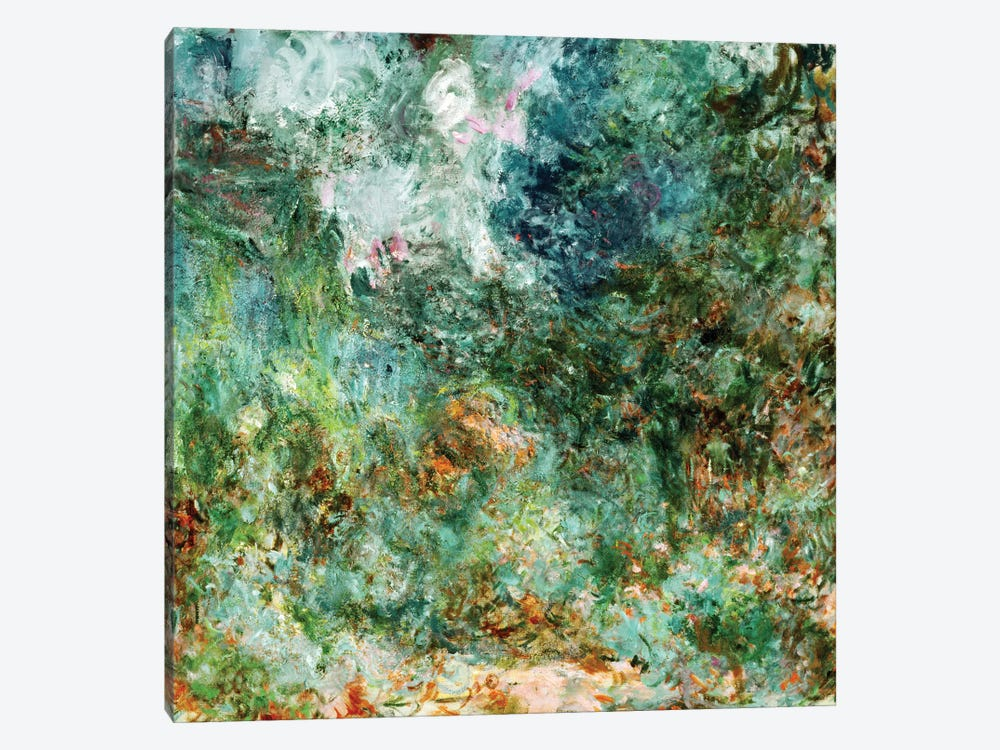 The House at Giverny Viewed from the Rose Garden, 1922-24  by Claude Monet 1-piece Canvas Art Print
