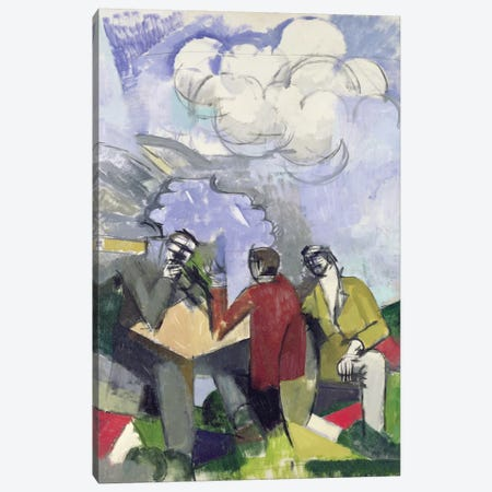 The Conquest of the Air, 1913  Canvas Print #BMN2020} by Roger de la Fresnaye Canvas Wall Art