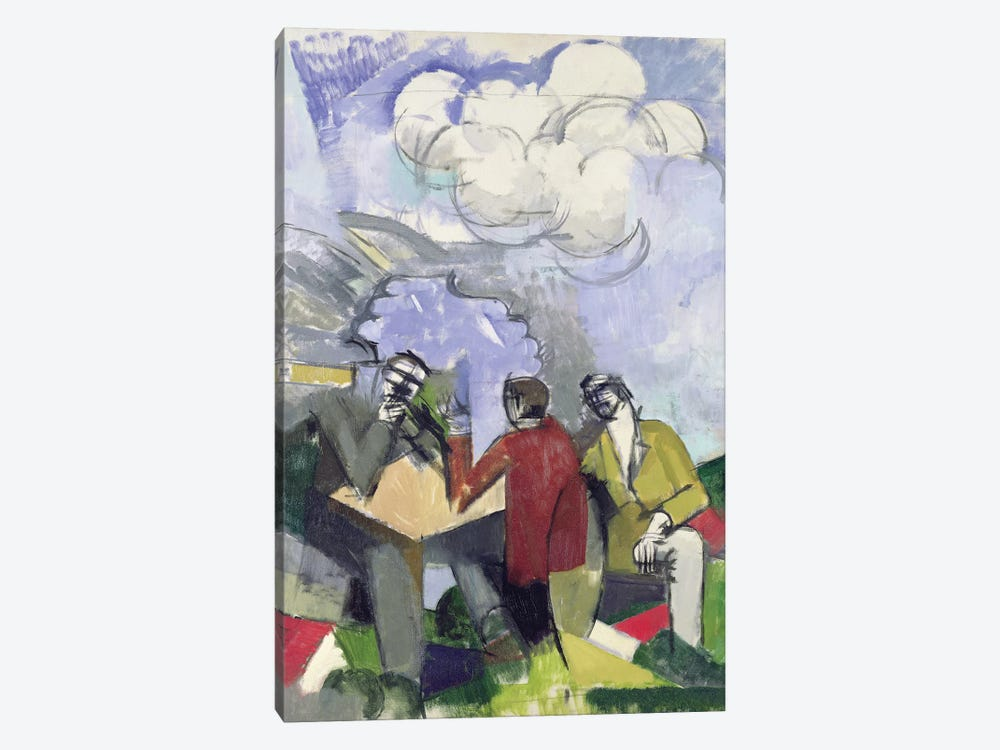 The Conquest of the Air, 1913  by Roger de la Fresnaye 1-piece Canvas Art Print