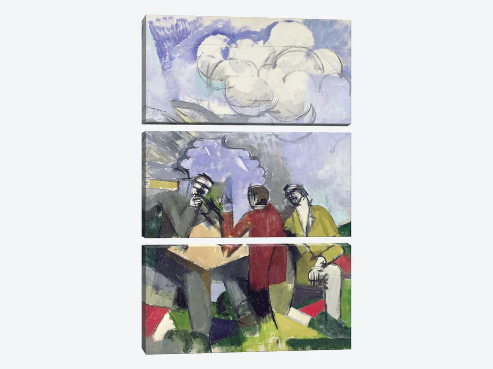 The Conquest of the Air, 1913  by Roger de la Fresnaye 3-piece Canvas Print