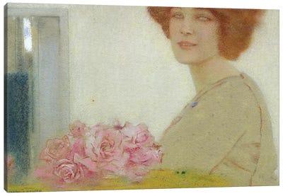 Roses, 1912  Canvas Art Print