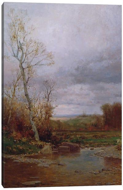 River Landscape, 1880  Canvas Art Print