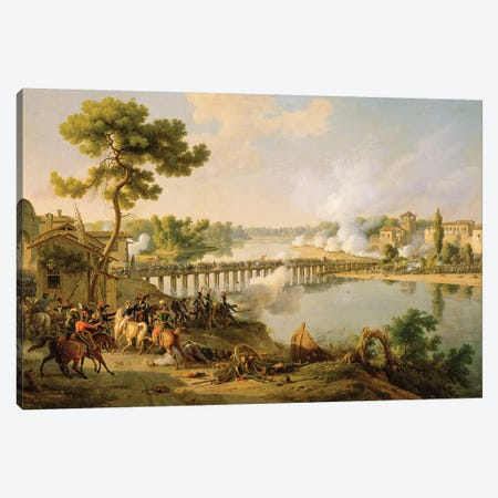 General Bonaparte  Canvas Print #BMN2032} by Louis Lejeune Art Print
