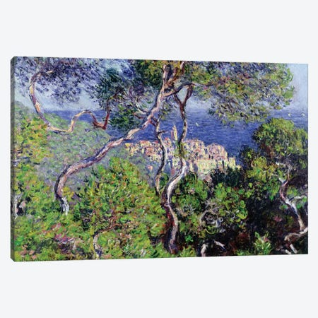 Bordighera, 1884  Canvas Print #BMN2037} by Claude Monet Canvas Artwork
