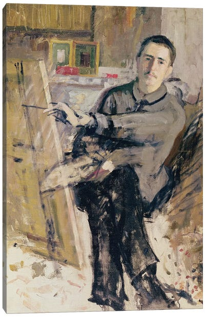 Self Portrait, c.1907-08  Canvas Art Print