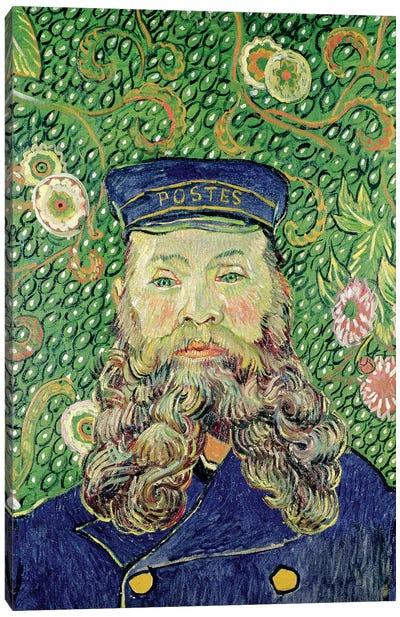 Portrait of the Postman Joseph Roulin, 1889  Canvas Print #BMN2046
