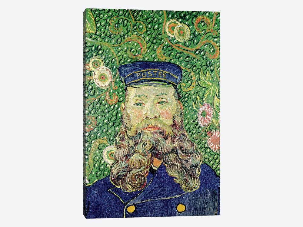 Portrait of the Postman Joseph Roulin, 1889  by Vincent van Gogh 1-piece Art Print