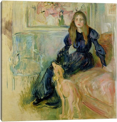 Julie Manet  Canvas Art Print