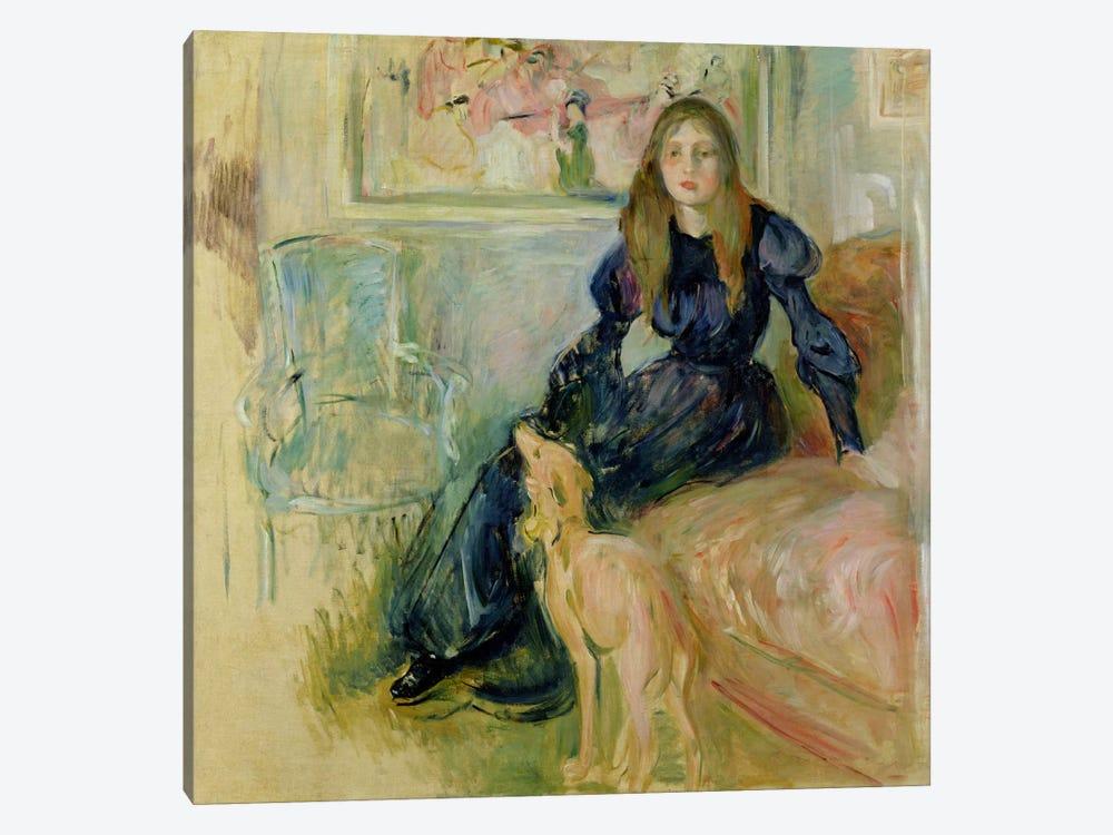 Julie Manet  by Berthe Morisot 1-piece Canvas Artwork