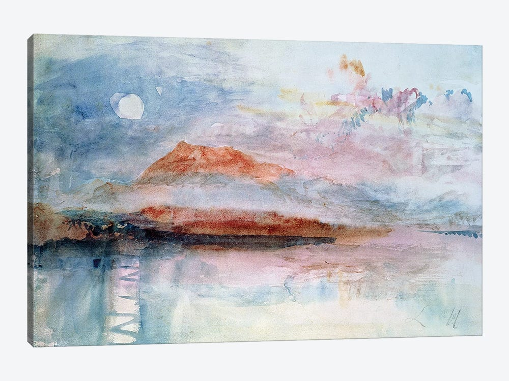 Righi, after 1830  by J.M.W. Turner 1-piece Canvas Print