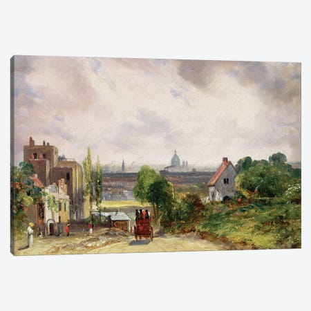 Sir Richard Steele's Cottage, Hampstead, c.1832  Canvas Print #BMN2062} by John Constable Canvas Artwork