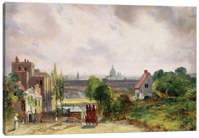 Sir Richard Steele's Cottage, Hampstead, c.1832  Canvas Art Print