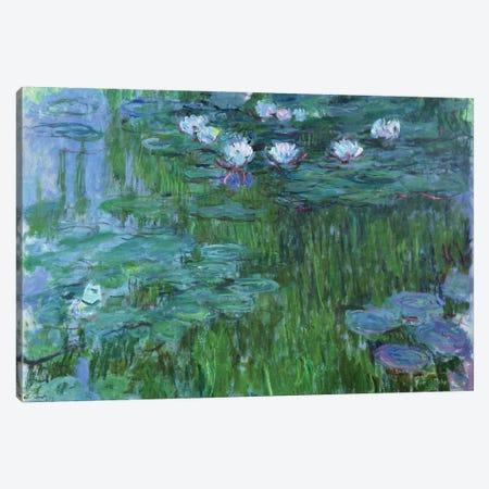 Waterlilies, 1914-17  Canvas Print #BMN2079} by Claude Monet Canvas Print