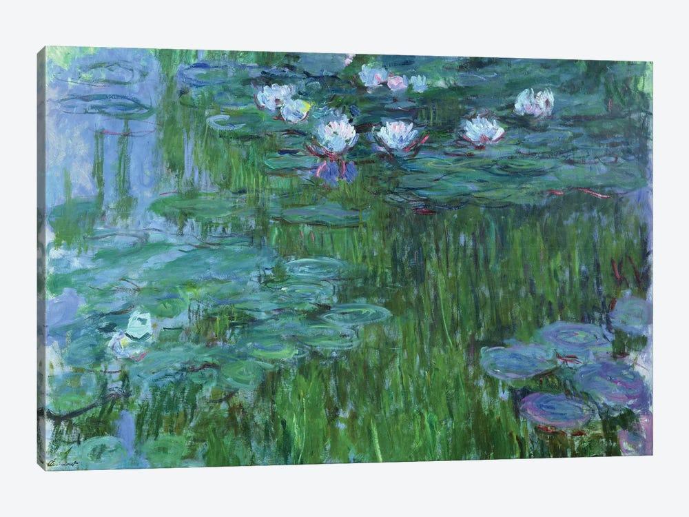 Waterlilies, 1914-17  by Claude Monet 1-piece Art Print