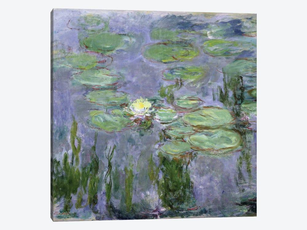 Waterlilies, 1915  by Claude Monet 1-piece Canvas Art Print