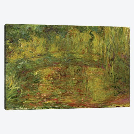 The Japanese Bridge, 1918  Canvas Print #BMN2083} by Claude Monet Canvas Art