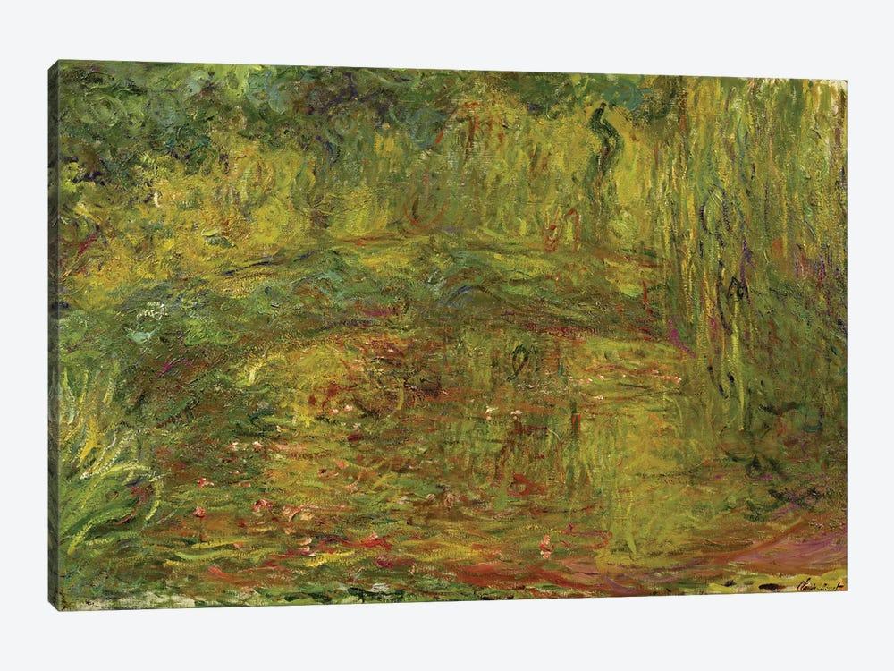 The Japanese Bridge, 1918  by Claude Monet 1-piece Canvas Wall Art