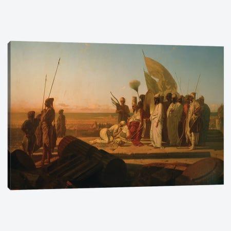 Xerxes at the Hellespont  Canvas Print #BMN2091} by Jean Adrien Guignet Canvas Art Print