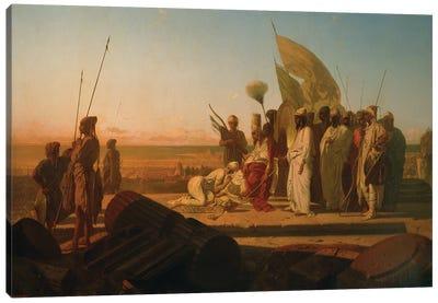 Xerxes at the Hellespont  Canvas Art Print