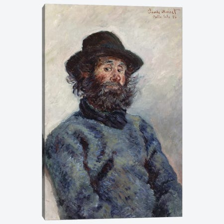 Poly, Fisherman at Belle-Ile, 1886  Canvas Print #BMN2094} by Claude Monet Canvas Art