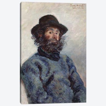 Poly, Fisherman at Belle-Ile, 1886  Canvas Print #BMN2094} by Claude Monet Canvas Art