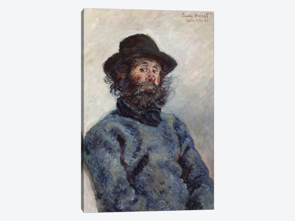 Poly, Fisherman at Belle-Ile, 1886  by Claude Monet 1-piece Canvas Art