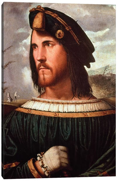 Cesare Borgia  Canvas Art Print