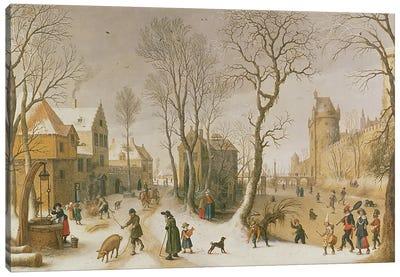 The Four Seasons: Winter  Canvas Art Print