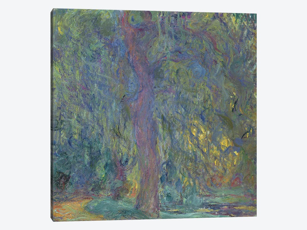 Weeping Willow, 1918-19  by Claude Monet 1-piece Canvas Artwork