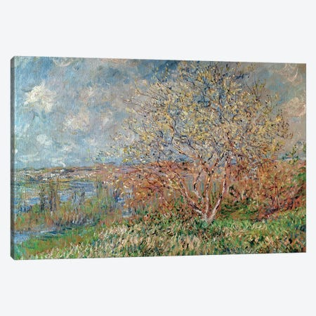 Spring, 1880-82  Canvas Print #BMN2122} by Claude Monet Art Print