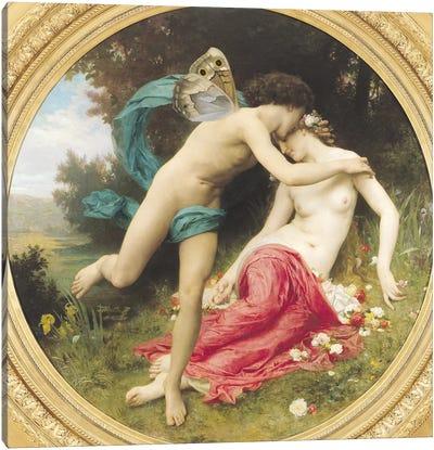 Flora and Zephyr, 1875  Canvas Art Print