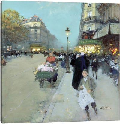 Urban Landscape  Canvas Art Print