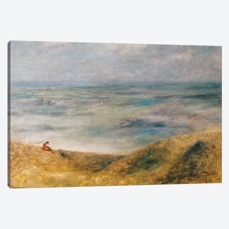 View of the Sea, Guernsey  Canvas Print #BMN2129} by Pierre-Auguste Renoir Canvas Print