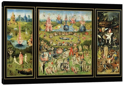 The Garden of Earthly Delights, c.1500  Canvas Art Print