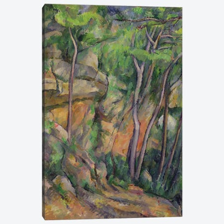 In the Park of Chateau Noir, c.1896-99  Canvas Print #BMN2131} by Paul Cezanne Canvas Art