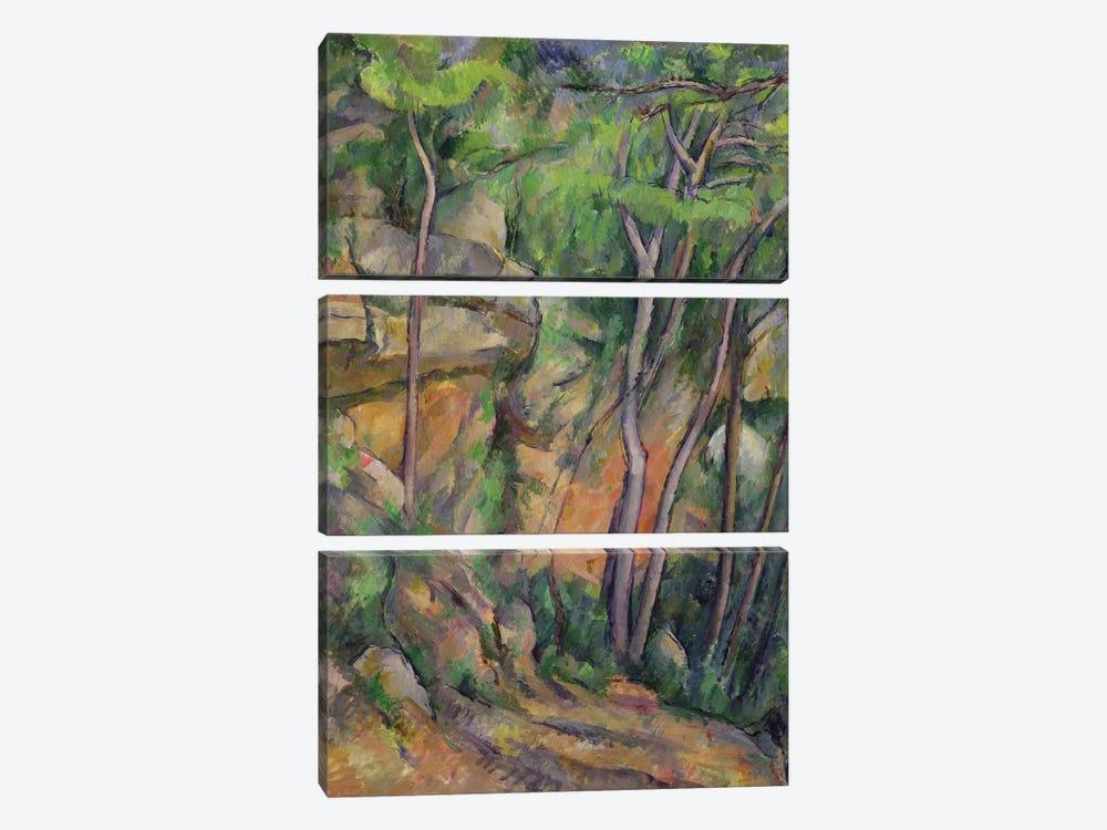 In the Park of Chateau Noir, c.1896-99  by Paul Cezanne 3-piece Canvas Art