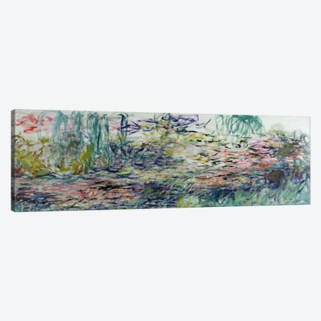 Waterlilies, 1917-19  Canvas Print #BMN2132} by Claude Monet Canvas Art