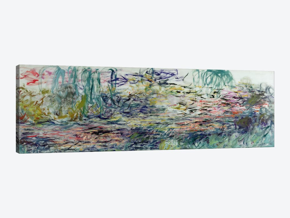 Waterlilies, 1917-19  by Claude Monet 1-piece Canvas Art Print
