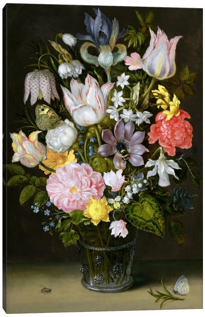 Still Life with Flowers  Canvas Art Print