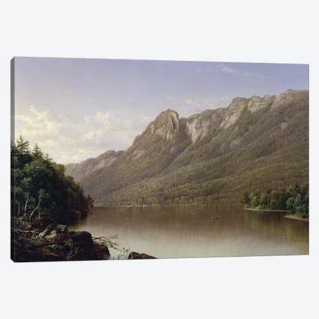 Eagle Cliff, Franconia Notch, New Hampshire  3-Piece Canvas #BMN2136} by David Johnson Canvas Art Print