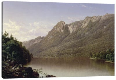 Eagle Cliff, Franconia Notch, New Hampshire  Canvas Art Print