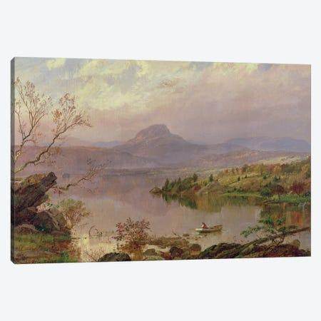 Sugarloaf from Wickham Lake, 1876  Canvas Print #BMN2142} by Jasper Francis Cropsey Art Print