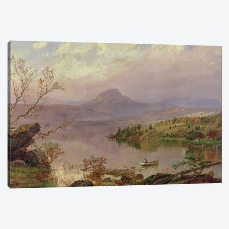 Sugarloaf from Wickham Lake, 1876  Canvas Print #BMN2142} by Jasper Francis Cropsey Art Print