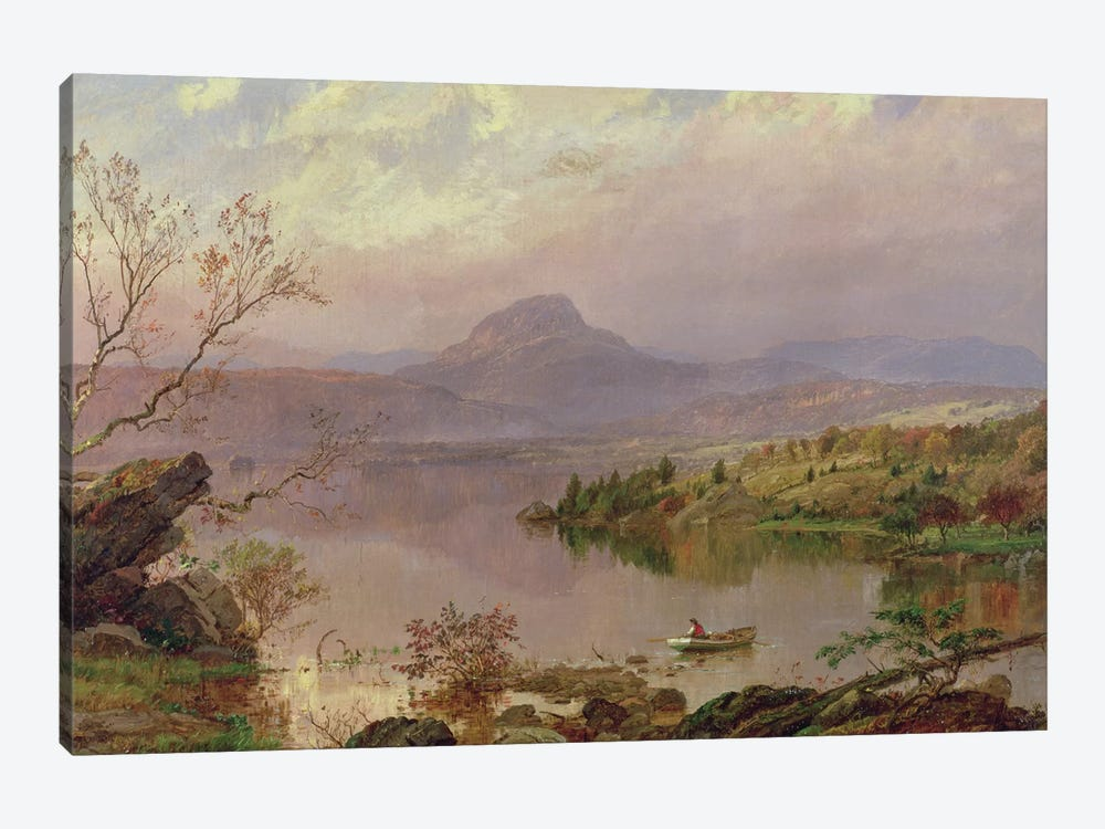 Sugarloaf from Wickham Lake, 1876  by Jasper Francis Cropsey 1-piece Canvas Wall Art