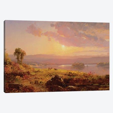 Susquehanna River, 1876  Canvas Print #BMN2143} by Jasper Francis Cropsey Canvas Print