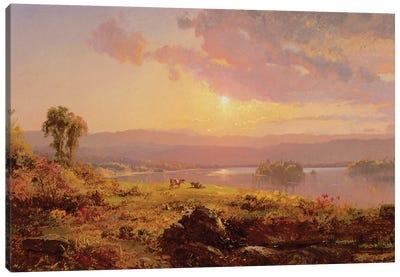 Susquehanna River, 1876  Canvas Art Print