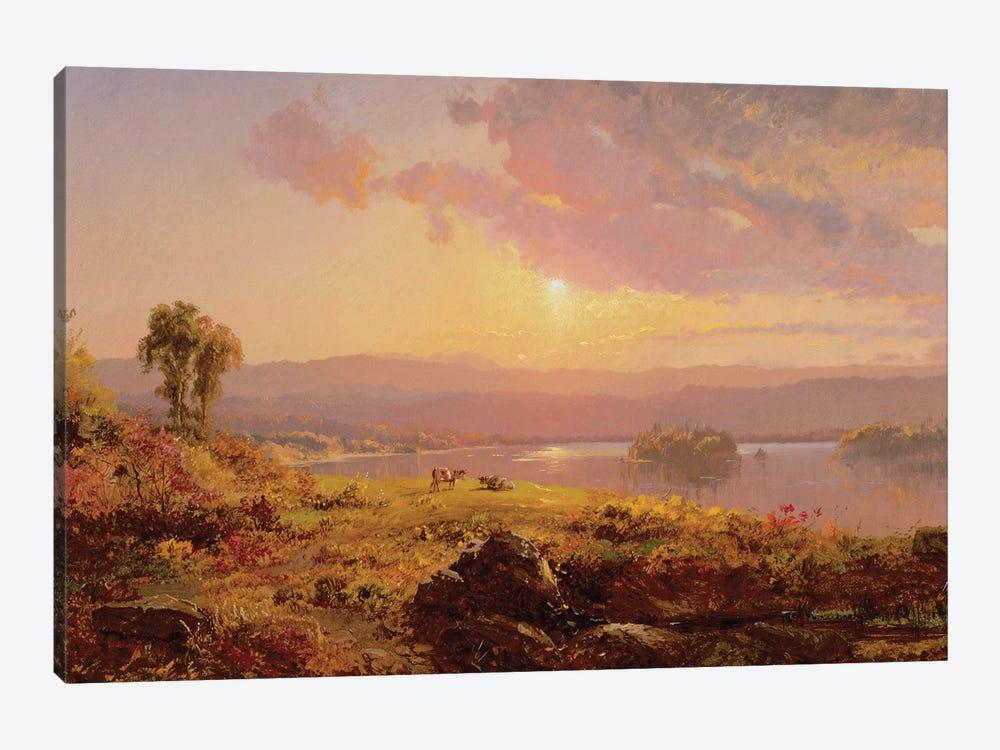 Susquehanna River, 1876  by Jasper Francis Cropsey 1-piece Canvas Art Print