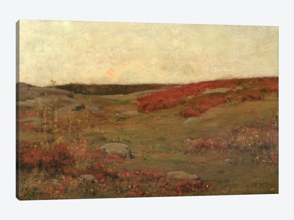 Sunrise, Autumn, c.1885  by Childe Hassam 1-piece Canvas Artwork