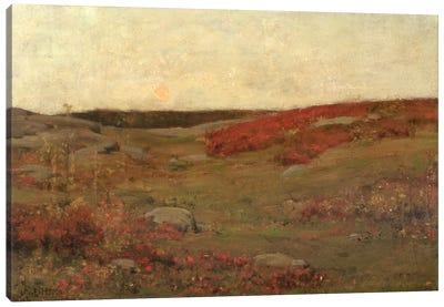 Sunrise, Autumn, c.1885  Canvas Art Print