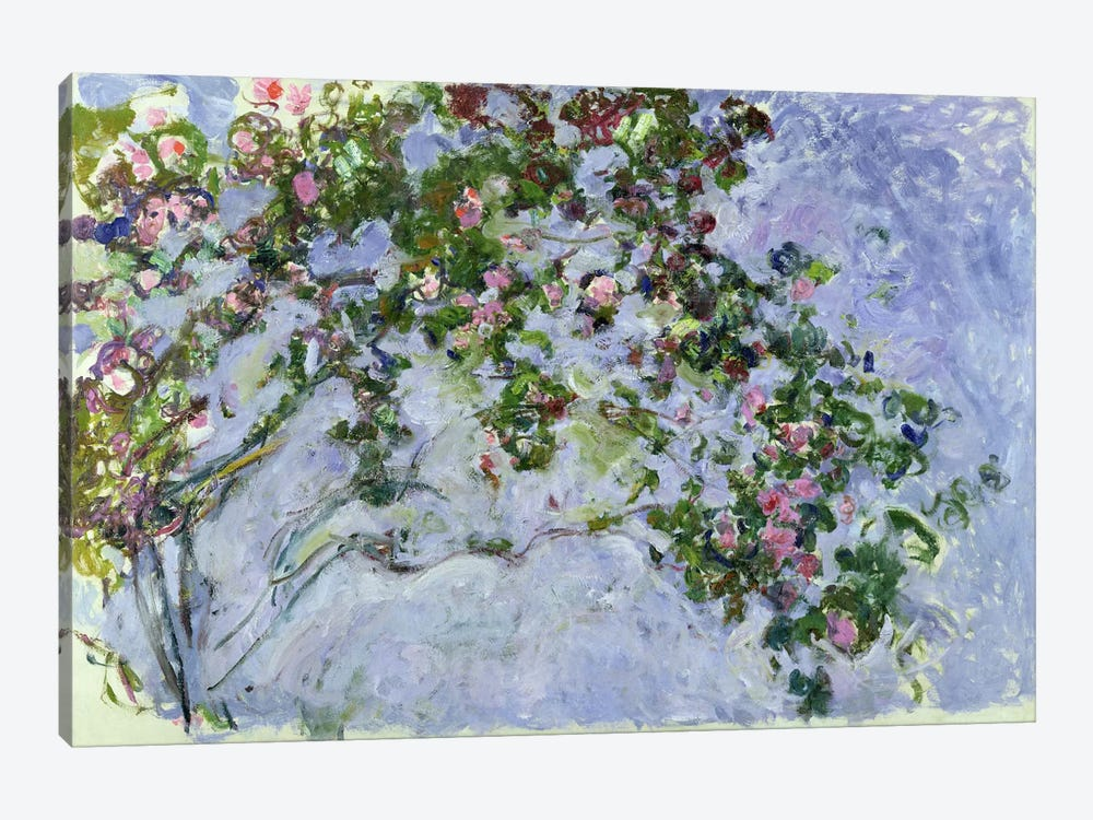 The Roses, 1925-26  by Claude Monet 1-piece Canvas Art Print